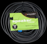 Accu Cable SK-10012 Speakon To Speakon / 100 Ft 12 Gauge