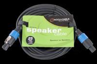 Accu Cable SK-2514 Speakon to Speakon - 25 Ft 14 Gauge