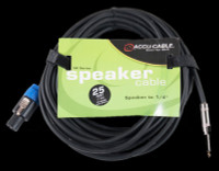 "Accu Cable SK4-2514 Speakon To 1/4"" Jack - 25 Ft 14 Gauge"