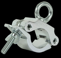 "Global Truss Aluminum 2"" Wrap Around PRO Clamp w/ Eyebolt"