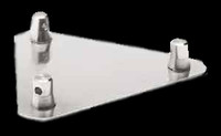 "Global Truss 12"" x 12"" Aluminum Base Plates For F33 Triangular Truss"