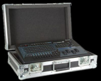 Elation SD 2RC Show Designer 2CF DMX Light Board Road Case