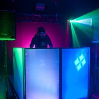 ADJ Event Facade Portable DJ Equipment Concealment Panel