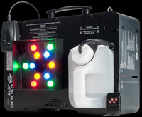ADJ Fog Fury Jett High Velocity Vertical Fog Machine w/ LED Color Fog