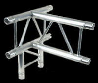 "Global Truss F32 12"" 4 Way Horizontal T Junction / 1.64ft. (0.5m)"