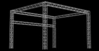 "Global Truss 12"" Box Truss 20'x13' Trade Booth Truss System"