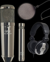 CAD GXL Multi-Pattern Cardioid Condenser Microphone Package