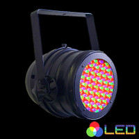 Omnisistem RGB LED Par Can Light / Black / Silver