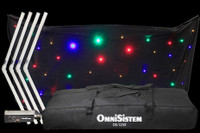 Omnisistem RGBA / White LED Fold Up DJ Facade Package