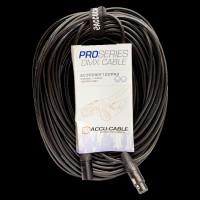 Accu Cable 100 Ft 3 Pin M/F DMX PRO Cable / AC3PDMX100PRO