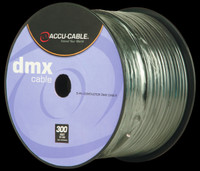Accu Cable 300 Ft Spool 3 Pin DMX Cable / AC3CDMX300