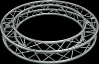 "Global Truss F34 12"" Square Truss Circle / 22.96ft. (7.0m)"