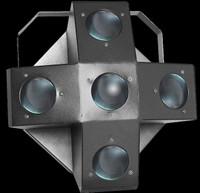 Omnisistem Striker 5 LED RGBWA UFO Multi Beam Effect DJ Light