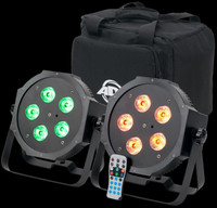 ADJ Mega 64 HEX Pak LED Par Can Combo Package