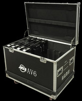 ADJ AV6FC Road Case for AV6 Video LED Panels