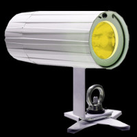 ADJ Pinpoint Go TW Cool White / Warm White / Amber LED PInspot