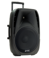 "Gemini 15"" Active Battery Powered Loudspeaker w/ Wireless Microphone"
