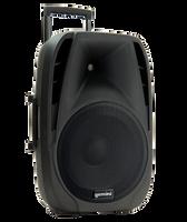"Gemini 15"" Active Battery Powered Loudspeaker w/ Wireless Microphone"