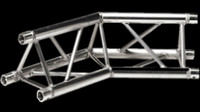 "Global Truss F33 12"" 2 Way Triangular 135 Degree Corner / Apex Up Down"