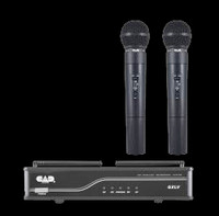 CAD UHF Wireless Dual Cardioid Handheld Microphone System