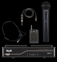 CAD UHF Wireless Handheld / Bodypack Microphone Combo System