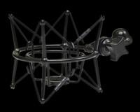 CAD Elastic Suspension Shock Mount for M179, M9 Microphones