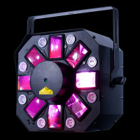 ADJ Stinger II HEX LED Moonflower Light w/ Laser + UV