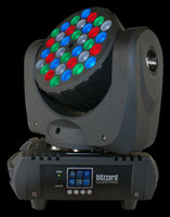 Blizzard Lighting Blade LED RGBW Razor Sharp Beam Moving Head Light