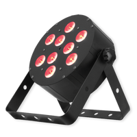 Eliminator Lighting Tri LED Par Can Wash Light / Tri Disc 9 IR