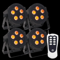 ADJ Hex Par Pak LED Par Can Lighting Package