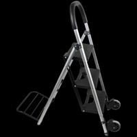 Omnisistem Step n' Haul 3 Step Ladder & Hand Truck