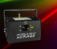 X-Laser Mobile Beat Mirage RGB Full Color Laser Projector