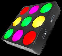Chauvet DJ CORE 3X3 Pixel-mapping LED Wash Light Panel
