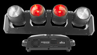 Chauvet DJ Intimidator Wave 360 IRC Quad Beam LED  Moving Head