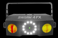 Chauvet DJ Swarm 4 FX Quad-color Dual Moonflower / Strobe / Laser