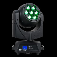 ADJ Vizi Hex Wash7 LED Moving Head Wash Light w/ Zoom