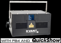 KVANT Spectrum 25 IP65 25W RGB Outdoor Laser Projector Package
