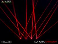 X-Laser Aurora Crimson Liquid Sky Laser