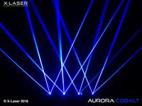 X-Laser Aurora Cobalt Liquid Sky Laser