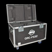ADJ Heavy Duty Dual Road Case for FOCUS SPOT THREE Z / VIZI RX ONE