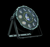 Eliminator Lighting Trio Par LED RGB+UV Par Light