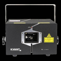 KVANT ClubMAX 3400 FB4 RGB Laser Projector w/ FB4 Interface