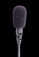 Airwave LAV-TITANIUM Omni Lavalier Microphone / Black