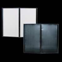 ADJ Event Facade II BL DJ Equipment Conceal Screen / Black & White