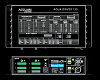 Acclaim Aqua Driver 150 Constant Current 24VDC LED Light Driver / PSU