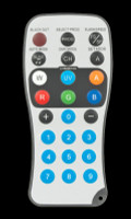 ADJ LD RC4 Remote for RGBAW+UV Par Can Fixtures