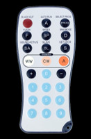 ADJ LED RC3 Remote Control for WW / CW / Amber Par Can Lights