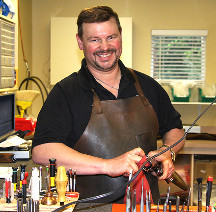 Tim Ward, our Krieghoff Certified Gunsmith