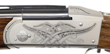 Krieghoff Celtic Scroll Nickel K-20 Receiver/Iron ONLY - 114263R