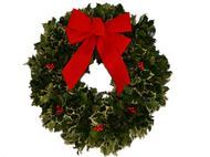 "18"" HOLLY WREATH"